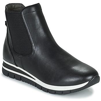 Schuhe Damen Boots Jana HOULIA Schwarz