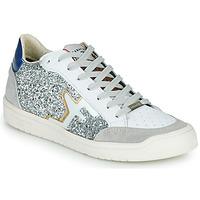 Schuhe Damen Sneaker Low Serafini SAN DIEGO Silbern / Weiss