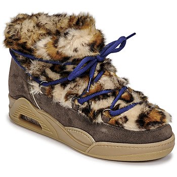 Schuhe Damen Boots Serafini MOON LOW Leopard