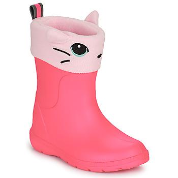 Schuhe Mädchen Gummistiefel Isotoner 99314 Rose