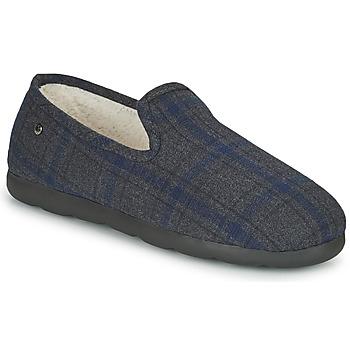 Schuhe Herren Hausschuhe Isotoner 98038 Grau / Blau