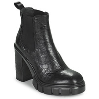 Schuhe Damen Low Boots Fru.it CAMILLA Schwarz