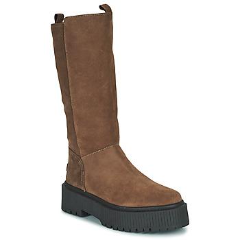 Schuhe Damen Klassische Stiefel Musse & Cloud BARBIS Braun