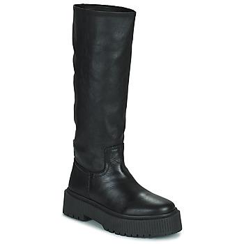 Schuhe Damen Klassische Stiefel Musse & Cloud BRULI Schwarz