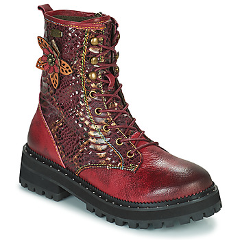 Schuhe Damen Boots Laura Vita IACNISO Bordeaux / Violett