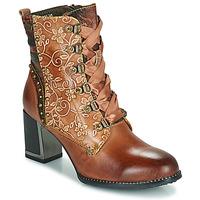 Schuhe Damen Low Boots Laura Vita KACIO Braun