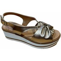 Schuhe Damen Sandalen / Sandaletten Susimoda SUSI2005rame marrone