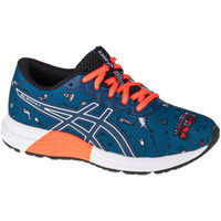 Schuhe Kinder Laufschuhe Asics Gel-Excite 7 GS Blau