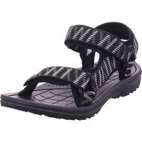 Schuhe Herren Sportliche Sandalen Hengst - S69411 schwarz