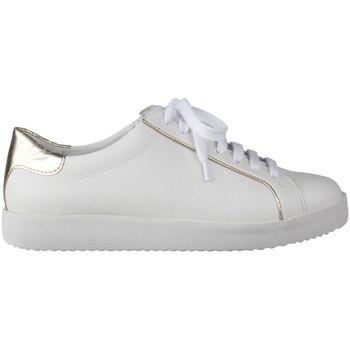 Schuhe Damen Sneaker Low Lei By Tessamino Damensneaker Nena Farbe: weiß weiß-gold