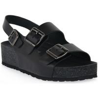Schuhe Damen Sandalen / Sandaletten Frau NERO NATURAL Nero