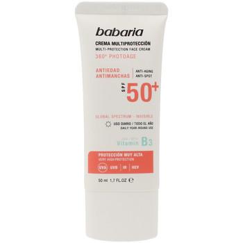 Beauty Sonnenschutz & Sonnenpflege Babaria Solar Multiproteccion Crema Antimanchas Spf50+  50 ml