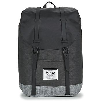 Taschen Rucksäcke Herschel RETREAT Schwarz / Grau