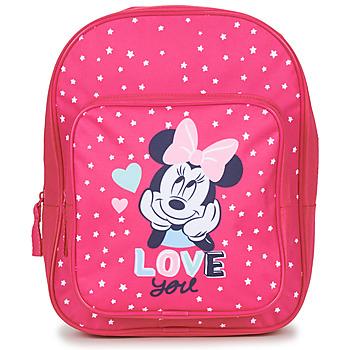 Taschen Mädchen Rucksäcke Disney SAC A DOS MINNIE 23 CM Rose