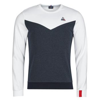 Kleidung Herren Sweatshirts Le Coq Sportif SAISON 1 CREW SWEAT N 1 Marine / Weiss