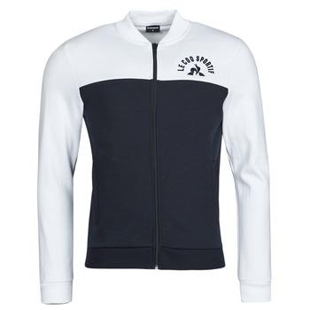 Kleidung Herren Trainingsjacken Le Coq Sportif SAISON 2 FZ SWEAT N 1 Marine / Weiss