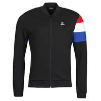 Kleidung Herren Trainingsjacken Le Coq Sportif TRI FZ SWEAT N 1 M Schwarz
