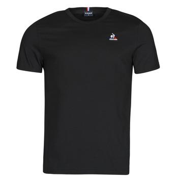 Kleidung Herren T-Shirts Le Coq Sportif ESS TEE SS N 3 M Schwarz