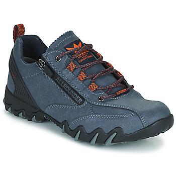 Schuhe Damen Sneaker Low Allrounder by Mephisto NAILA TEX Blau