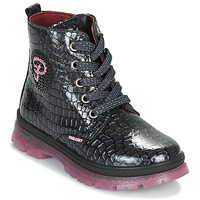 Schuhe Mädchen Boots Pablosky 404157 Schwarz