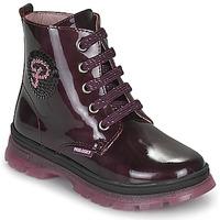 Schuhe Mädchen Boots Pablosky 404099 Bordeaux