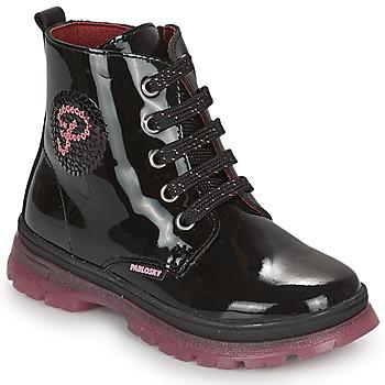Schuhe Mädchen Boots Pablosky 404019 Schwarz