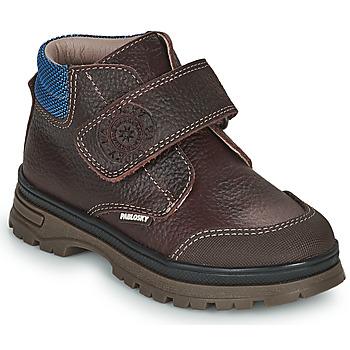 Schuhe Jungen Boots Pablosky 502993 Braun
