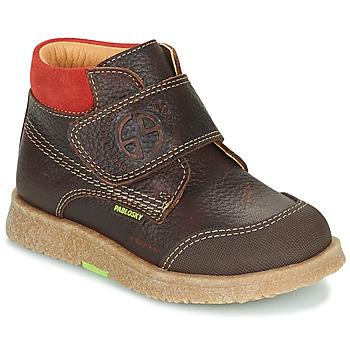 Schuhe Jungen Boots Pablosky 502593 Braun