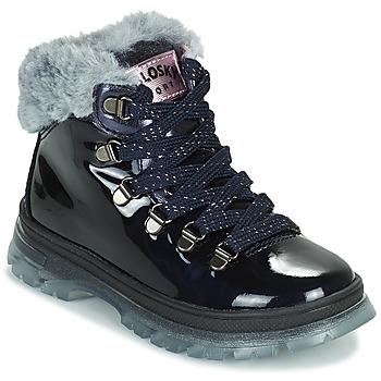 Schuhe Mädchen Boots Pablosky 404429 Blau