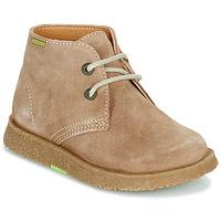 Schuhe Jungen Boots Pablosky 502148 Camel