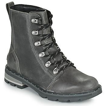 Schuhe Damen Boots Sorel LENNOX LACE Grau
