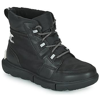 Schuhe Damen Boots Sorel SOREL EXPLORER II CARNIVAL SPORT Schwarz
