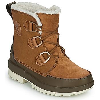 Schuhe Damen Boots Sorel TORINO II Braun