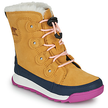 Schuhe Mädchen Boots Sorel YOUTH WHITNEY II JOAN LACE Camel