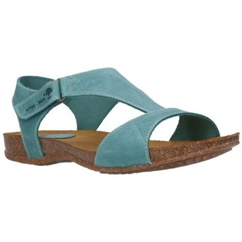 Schuhe Damen Sandalen / Sandaletten Interbios 4420 crazy jeans Mujer Jeans bleu