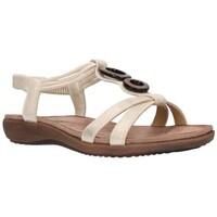 Schuhe Damen Sandalen / Sandaletten Amaspies AMARPIES ABZ17064 Mujer Platino Argenté