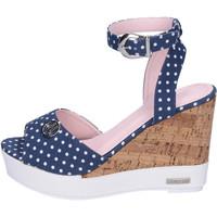 Schuhe Damen Sandalen / Sandaletten Lancetti BJ942 Blau