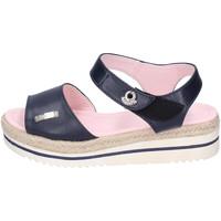 Schuhe Damen Sandalen / Sandaletten Lancetti BJ944 Blau