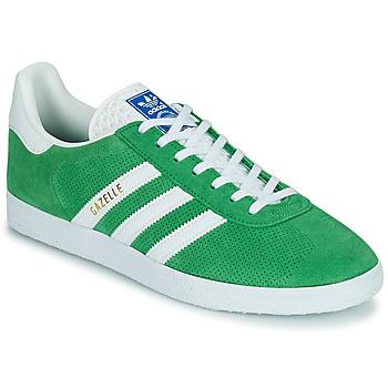 Schuhe Sneaker Low adidas Originals GAZELLE Grün