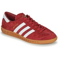 Schuhe Herren Sneaker Low adidas Originals HAMBURG Rot