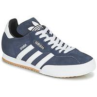 Schuhe Sneaker Low adidas Originals SUPER SUEDE Marine / Blau