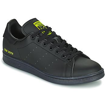 Schuhe Sneaker Low adidas Originals STAN SMITH Schwarz / Gelb