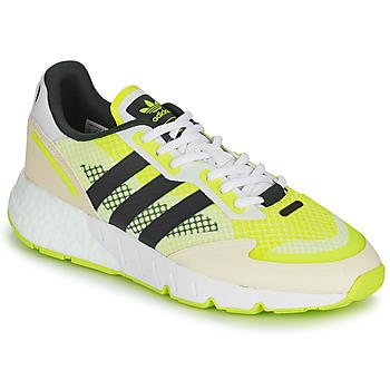 Schuhe Herren Sneaker Low adidas Originals ZX 1K BOOST Weiss / Gelb