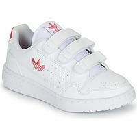 Schuhe Mädchen Sneaker Low adidas Originals NY 90  CF C Weiss / Rose