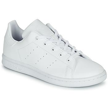 Schuhe Kinder Sneaker Low adidas Originals STAN SMITH C Weiss