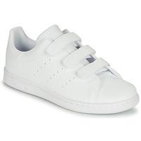 Schuhe Kinder Sneaker Low adidas Originals STAN SMITH CF C Weiss