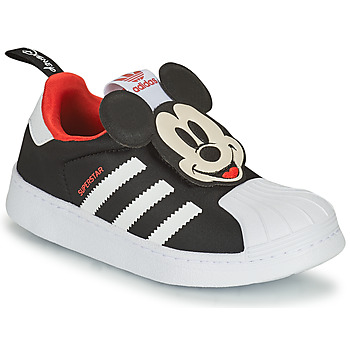 Schuhe Jungen Sneaker Low adidas Originals SUPERSTAR 360 C Schwarz