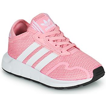 Schuhe Mädchen Sneaker Low adidas Originals SWIFT RUN X C Rose
