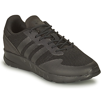 Schuhe Jungen Sneaker Low adidas Originals ZX 1K C Schwarz