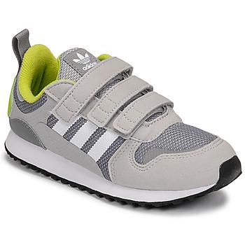 Schuhe Jungen Sneaker Low adidas Originals ZX 700 HD CF C Grau / Grün